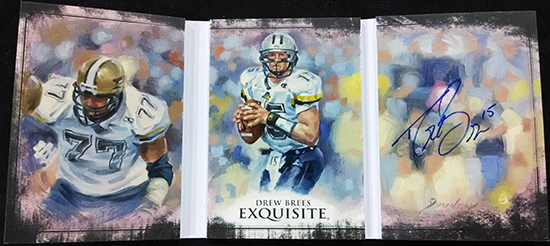 2013-Upper-Deck-Exquisite-Football-Autograph-Triptych-Signatures-Drew-Breees-Inside