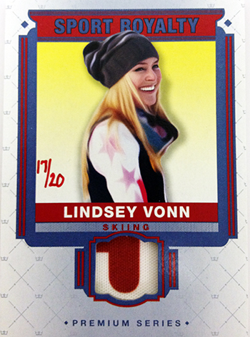 2014-Goodwin-Champions-Memorabilia-Sports-Royalty-Lindsey-Vonn