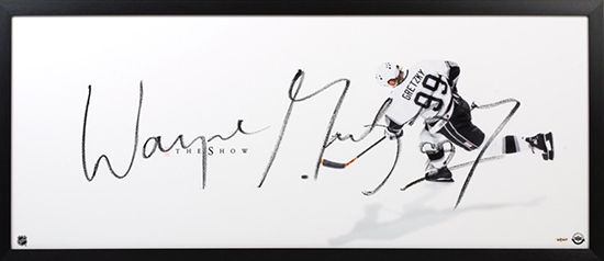 Group-Gift-Idea-Dad-Father-Upper-Deck-Authenticated-Autographed-The-Show-Wayne-Gretzky-Photograph