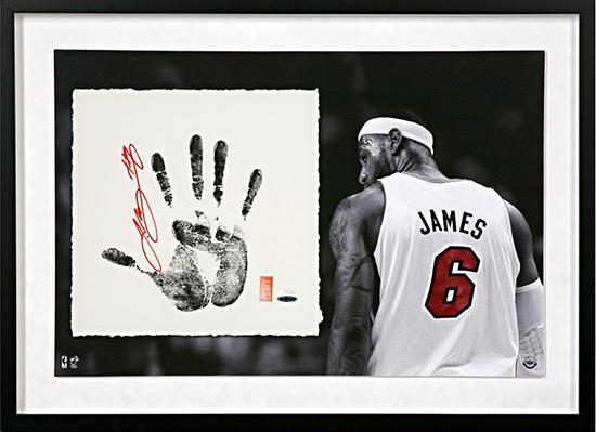 Group-Gift-Idea-The-Man-Who-Has-Everything-Autographed-LeBron-James-Tegata-Memorabilia