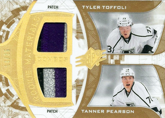 Kings-Stanley-Cup-Top-Players-SPx-Rookie-Materials-Patch-Pearson-Toffoli