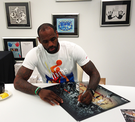 LeBron-James-Upper-Deck-Authenticated-Signing-Session-Autograph-Signature-Collect-Miami-B