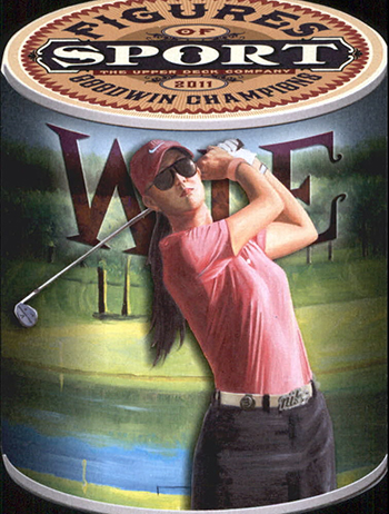 Michelle-Wie-Upper-Deck-Golf-Trading-Card-Rookie-2011-Goodwin-Champions-Figures-XRC