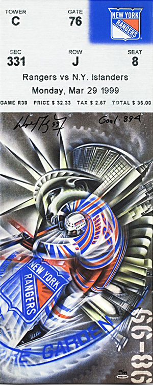 NHL-Stanley-Cup-Final-New-York-Rangers-Upper-Deck-Authenticated-Signed-Wayne-Gretzky-894-Goal