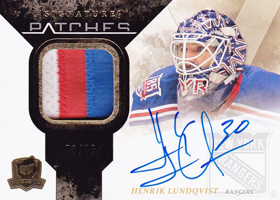 Rangers-Stanley-Cup-Top-Players-The-Cup-Henrik-Lundqvist-Autograph-Signature-Patches