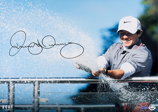 Rory-McIlroy-Spray-of-Victory-European-Championship-Upper-Deck-Authenticated