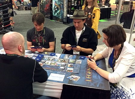 UD-2014-Origins-Game-Fair-Columbus-OH-Upper-Deck-Legendary-Gameplay