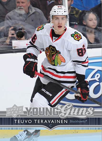 2014-15-NHL-Upper-Deck-Series-One-Young-Guns-Teuvo-Teravainen