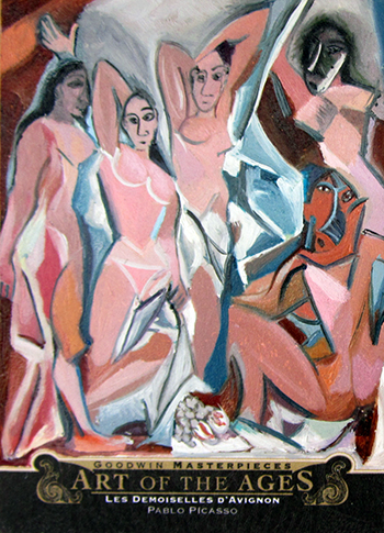 2014-Goodwin-Champions-Upper-Deck-Art-of-the-Ages-Picasso-Les-Demoiselles-Davignon