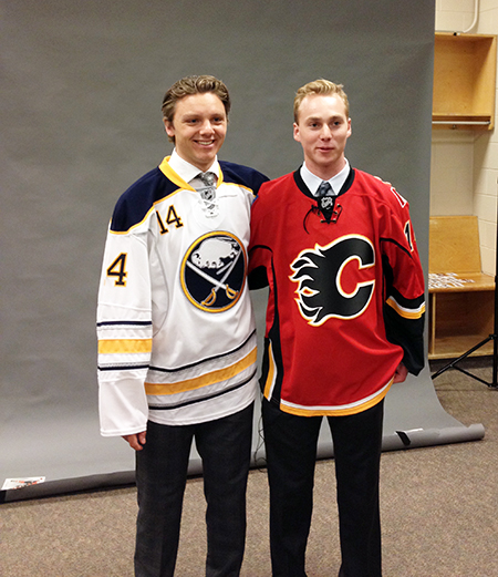 2014-NHL-Draft-Upper-Deck-Gauntlet-Sam-Reinhart-Sam-Bennett-Photo-Shoot-Sams-2