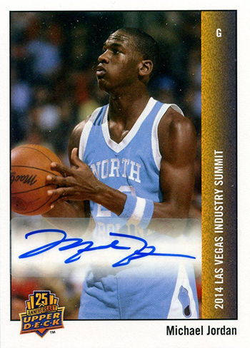 2014-Upper-Deck-Las-Vegas-Industry-Summit-Autograph-Michael-Jordan
