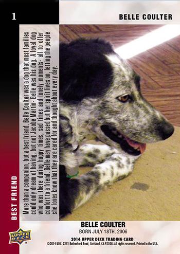 2014-Upper-Deck-Mans-Best-Friend-Card-Jacobe-Martin-Belle-Back