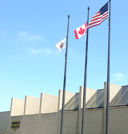 Happy-Canada-Day-Raising-Canadian-Flag-Upper-Deck-Headquarters-Three-Flying