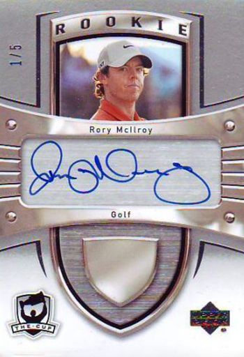 Rory-McIlroy-Golf-Collectibles-Card-Rookie-Best-2012-13-NHL-The-Cup-Autograph