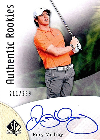 Rory-McIlroy-Golf-Collectibles-Card-Rookie-Best-2014-SP-Authentic-True-Autograph-299