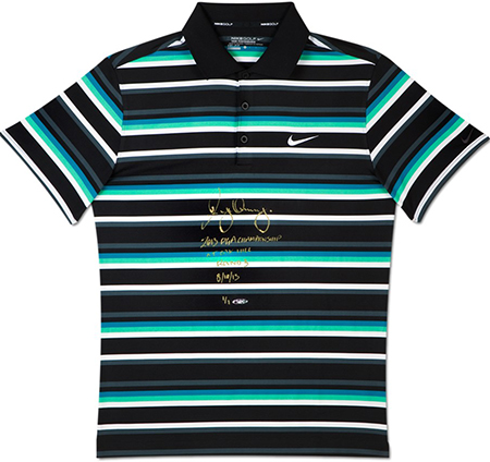 Rory-McIlroy-Golf-Collectibles-Signed-Memorabilia-Nike-Tournament-Worn-Polo-Shirt