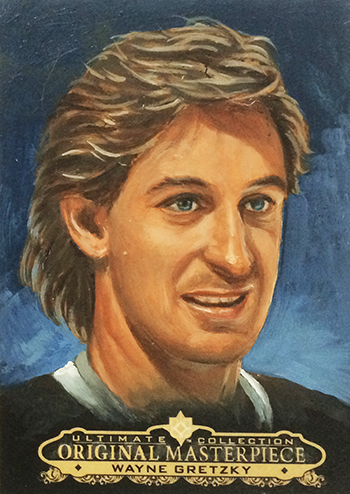 2013-14-NHL-Ultimate-Collection-Original-Art-Masterpiece-Wayne-Gretzky