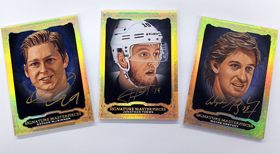2013-14-NHL-Ultimate-Collection-Upper-Deck-Signature-Masterpieces-MacKinnon-Toews-Gretzky