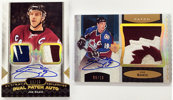 2013-14-NHL-Upper-Deck-Ultimate-Collection-Autograph-Patch-Joe-Sakic