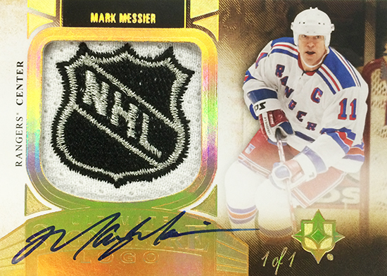 2013-14-NHL-Upper-Deck-Ultimate-Collection-Autograph-Shield-Mark-Messier
