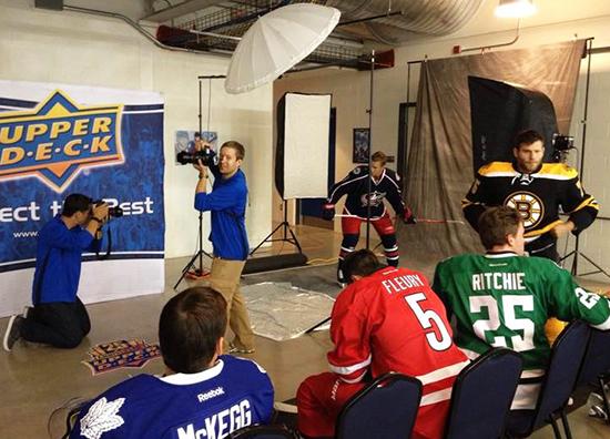 2014-NHLPA-Rookie-Showcase-Game-Upper-Deck-Photo-Shoot