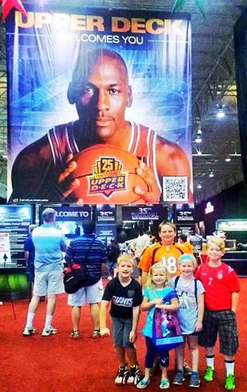 2014-National-Sports-Collectors-Convention-Upper-Deck-Kids-Children-Games-Fun-Engagement-Photo-Jordan-Opp