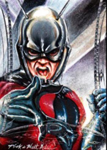 Sketch of Marvel's Antman