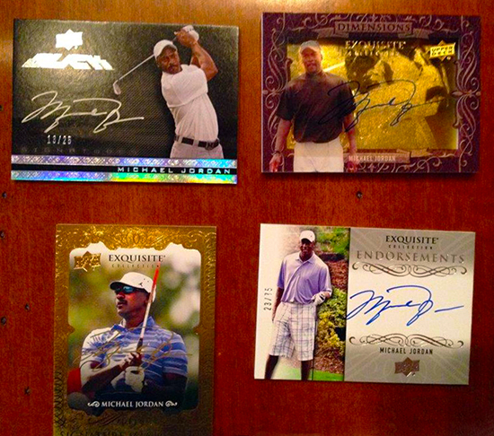 2014-Exquisite-Collection-Golf-Autograph-Gallery-Michael-Jordan