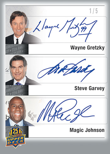 2014-Upper-Deck-25th-Anniversary-Set-City-Sigs-Triples-Gretzky-Garvey-Magic