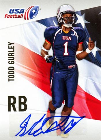 Brag-Photo-Todd-Gurley-Upper-Deck-USA-Football-Georgia-Bulldogs-Running-Back-Autograph