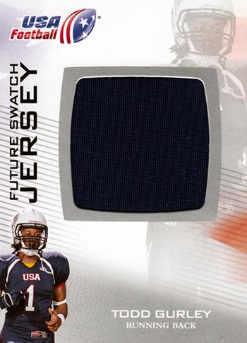Brag-Photo-Todd-Gurley-Upper-Deck-USA-Football-Georgia-Bulldogs-Running-Back-Jersey
