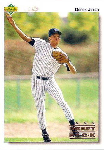 What Is Derek Jeters Most Iconic Rookie Baseball Card