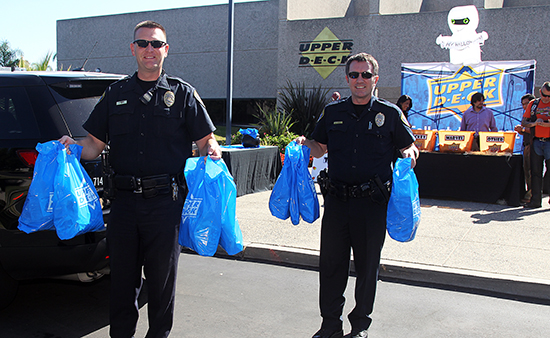 Upper-Deck-Gives-Back-Charity-Philanthropy-Halloween-Trick-or-Trade-Police-Law-Enforcement-Local-9