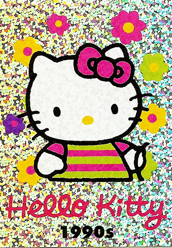 Upper-Deck-Sanrio-Hello-Kitty-40th-Anniversary-Fun-Packs-Collectibles-Decade-1990s