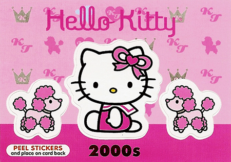 Upper-Deck-Sanrio-Hello-Kitty-40th-Anniversary-Fun-Packs-Collectibles-Decade-2000s