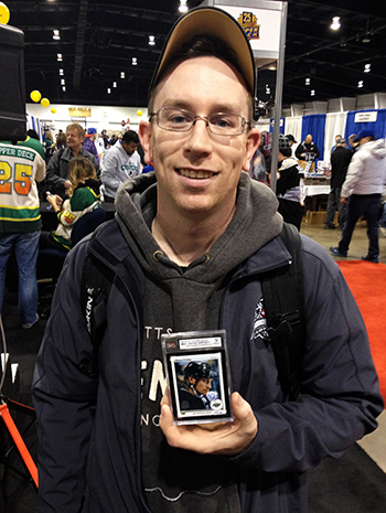 2014-Fall-Sportscard-Memorabilia-Expo-Upper-Deck-Booth-Big-Pull-Wayne-Gretzky-Autograph-Buyback