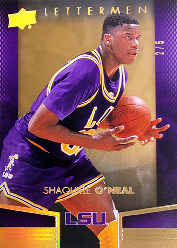 2014-15-Upper-Deck-Letterman-Basketball-Gold-Parallel-Shaq-O-Neal