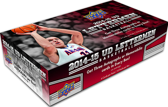 2014-15-Upper-Deck-Letterman-Basketball-Hobby-Box