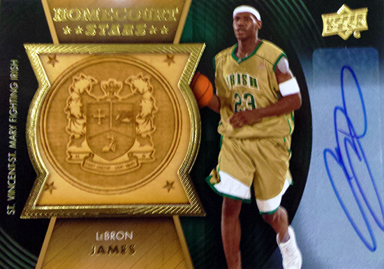 2014-15-Upper-Deck-Letterman-Basketball-Homecourt-Stars-Autograph-LeBron-James