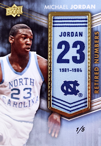 2014-15-Upper-Deck-Letterman-Basketball-Retired-Numbers-Michael-Jordan