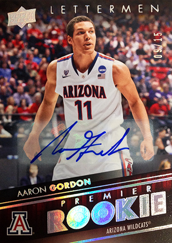 2014-15-Upper-Deck-Letterman-Basketball-Rookie-Premier-Rainbow-Autograph-Aaron-Gordon