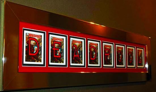 2014-Marvel-Premier-Upper-Deck-Deadpool-Code-Name-Letter-Card-Set-Complete-How-Where-Framed-2