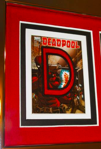 2014-Marvel-Premier-Upper-Deck-Deadpool-Code-Name-Letter-Card-Set-Complete-How-Where-Framed-3