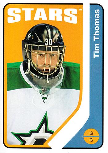 Upper-Deck-O-Pee-Chee-Ken-Reid-Tim-Thomas-Hockey-Card-Stories