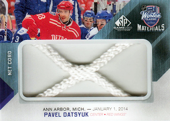 2014-NHL-Winter-Classic-Detroit-Red-Wings-Pavel-Datsyuk-Net-Cord-SP-Game-Used