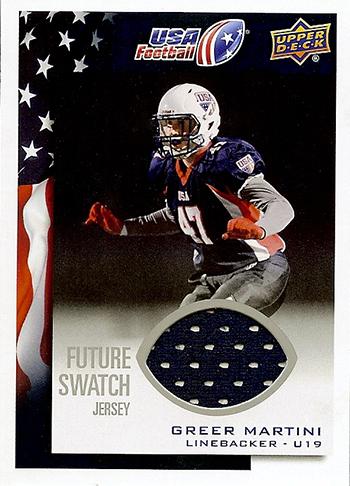 2014-Upper-Deck-USA-Football-Future-Swatch-Jersey-Greer-Martini