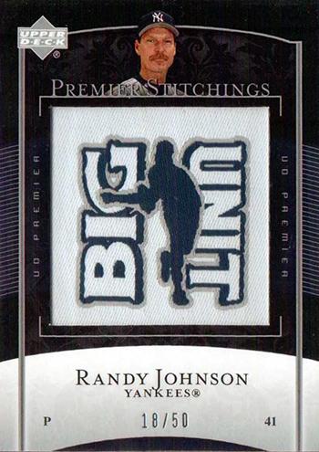 2015-Baseball-Hall-of-Fame-Randy-Johnson-Upper-Deck-Premier-Big-Unit-Card