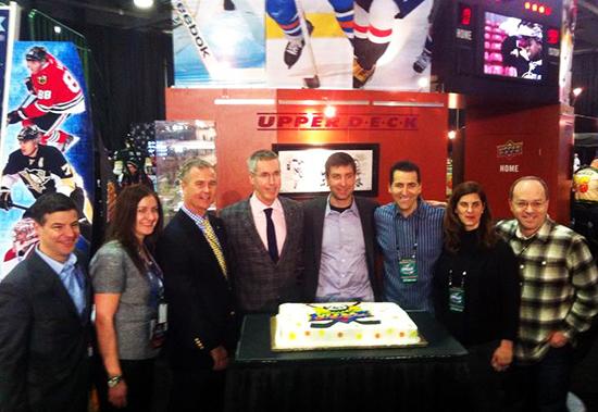 2015-NHL-All-Star-Fan-Fair-Weekend-Best-Moments-Upper-Deck-25-Year-Commemorative-Stick-2