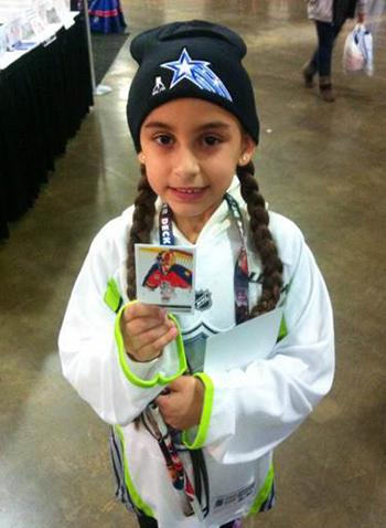 2015-NHL-All-Star-Fan-Fair-Weekend-Best-Moments-Upper-Deck-Luongo-Daughter