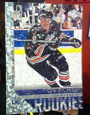 2015-NHL-All-Star-Fan-Fair-Weekend-Best-Moments-Upper-Deck-Tim-Carrol-Art-Piece-Ovechkin-1